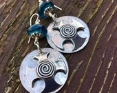 Blue Warrior Celtic Cross...