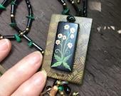 Woodland Flowers Handpain...