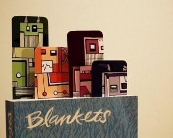 Robookmark Robot Bookmark Set