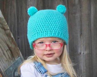 824bf9072 Bear ears beanie | Etsy