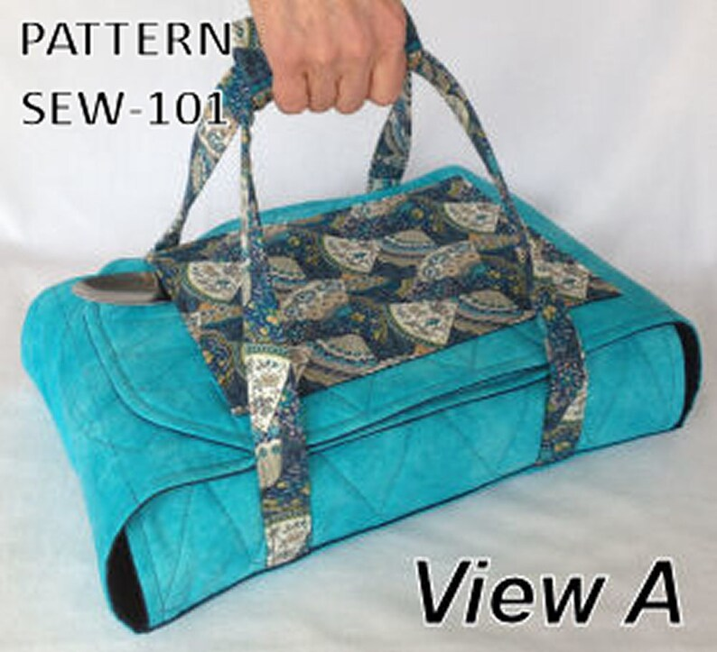 PATTERN Wrap & Go Casserole Carrier Insulated Batting DIY Spoon Pocket and  Handle for Easy Carry