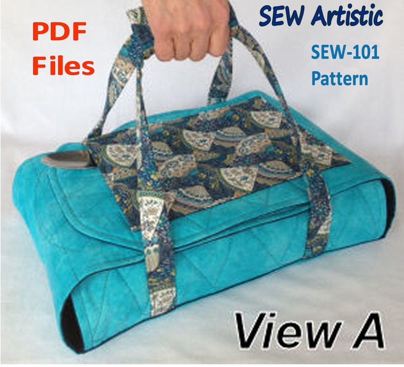 PDF PATTERN Wrap & Go Casserole Carrier Insulated Batting DIY Spoon Pocket  and Handle for Easy Carry
