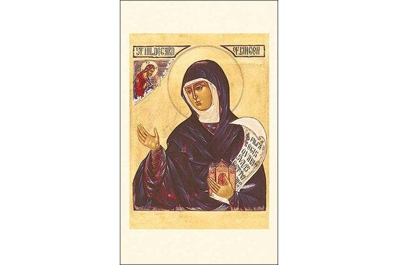 Assorted Catholic Female Patron Saint Holy Prayer Cards Pack of 100 4 1//8 Inch