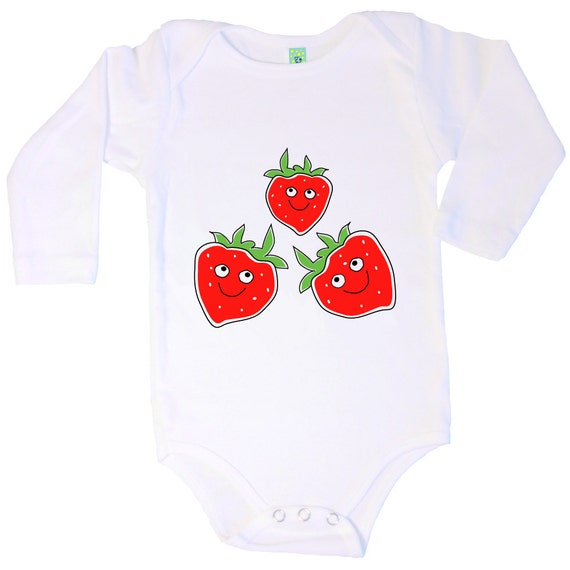 made in the USA Organic cotton short sleeve baby onesie with screen printed Big Apple design by Bugged Out