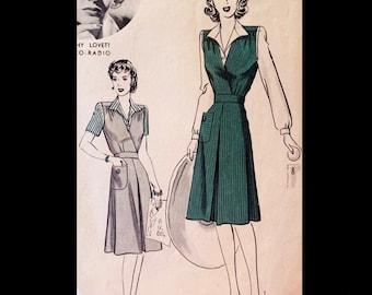 Light Summer Holiday Resort Dress Empire Style Pleated Waist Inset UK 10