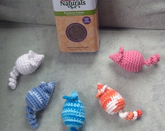 Cotton Catnip Mouse (Set of TWO)