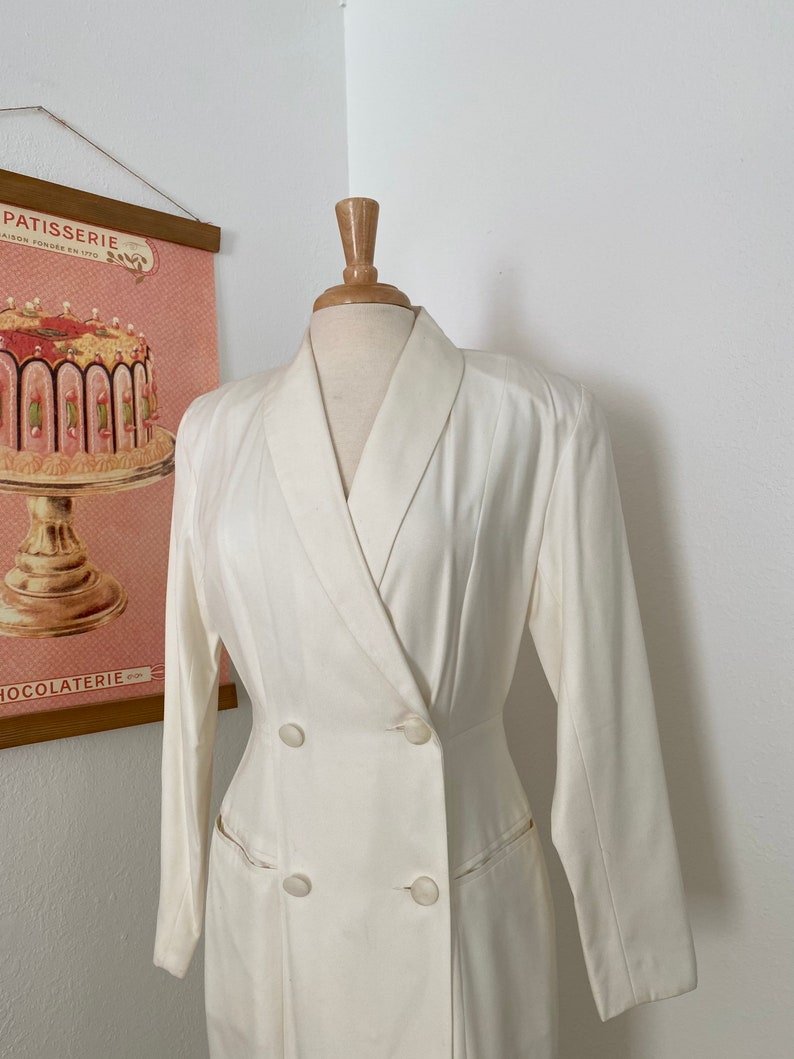 1980s Vintage Nordstrom Blazer Dress