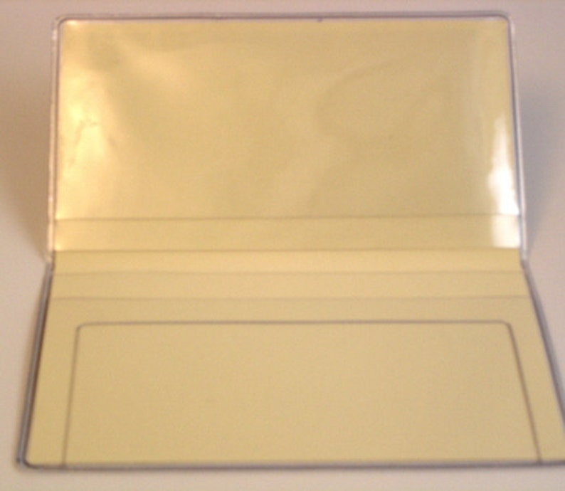 Three Shells Checkbook Cover Debit Receipt Holder Handmade in the USA