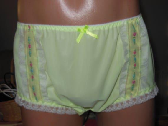 5d9d242da4cf Handmade Vintage Style Nylon Tricot Vanity Fair Brief Panties | Etsy