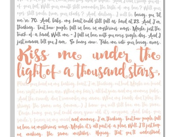 Gift Ideas Custom Canvas Artwork Vows Canvas Vows Geezees cotton anniversary gift, Your Wedding Vows Art Custom Personalized Couple