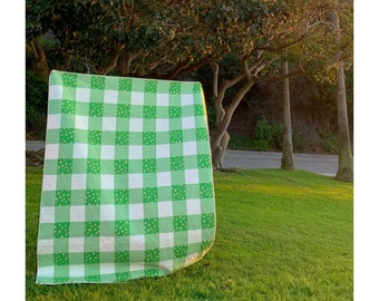 """Swell Green Buffalo Plaid Quilt Kit - Quilt Top and Binding Fabric Included - 66"""" x 82.5"""" finished size - PREORDER"""
