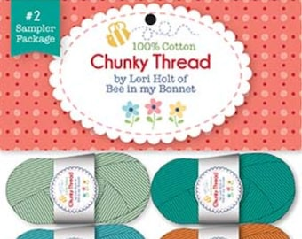 Lori Holt - Chunky Thread Sampler Package #2