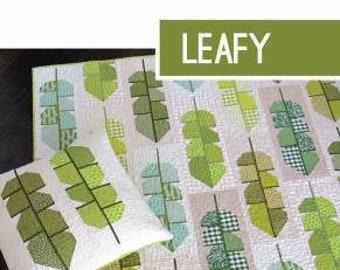 Leafy Quilt Pattern by Elizabeth Hartman (EH 049) - - Elizabeth Hartman Quilt Pattern