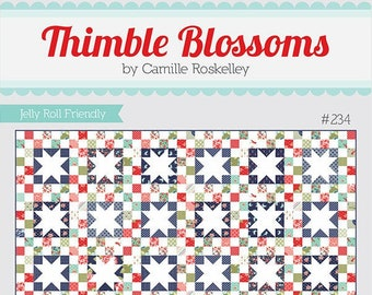Hide and Seek Quilt Pattern by Thimble Blossoms (TB 234) - Jelly Roll Friendly!