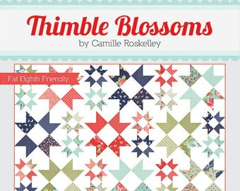 Shining Brightly Quilt Pattern by Thimble Blossoms (TB 235) - Fat Eighth Friendly!