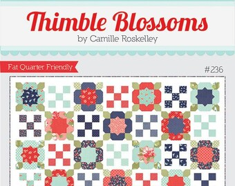 Flower Girl 2 Quilt Pattern by Thimble Blossoms (TB 236) - Fat Quarter Friendly!