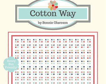 Chatterbox Quilt Pattern by Cotton Way (CW 1027) - Honey Bun Friendly!