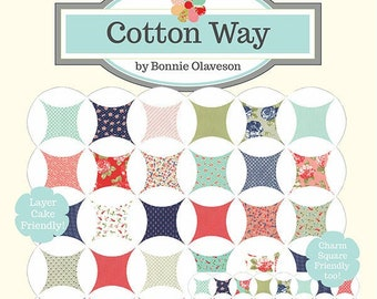 Abundantly Blessed 2 Quilt Pattern (CW 1028) - Cotton Way Quilt Pattern - Layer Cake and Charm Pack Friendly!