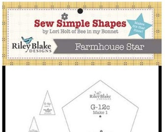 Lori Holt Template Farmhouse Star Sew Simple Shapes by Lori Holt  - STT-11530