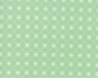 Scarlet and Sage Pond Trellis by Fig Tree & Co. for Moda (20367 18) - Cut Options Available
