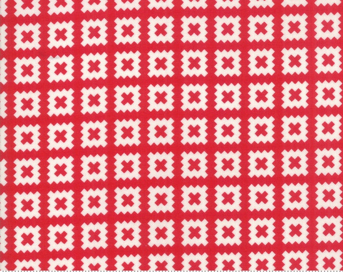 Little Snippets Red Quilt Blocks by Bonnie & Camille for Moda Fabrics (55184 11)