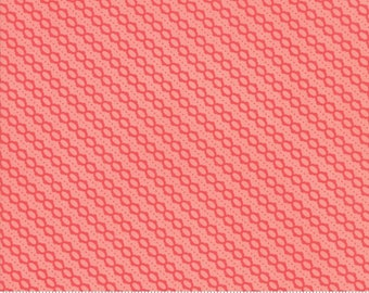 Strawberry Jam Strawberry Summer Stripe by Corey Yoder (Little Miss Shabby) for Moda (29066 31)