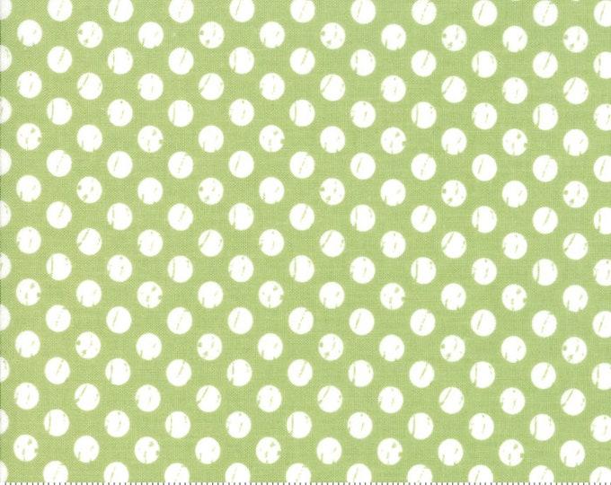 Lollipop Garden Whitewashed Dots - Apple - Lollipop Garden by Lella Boutique - (5085 16)