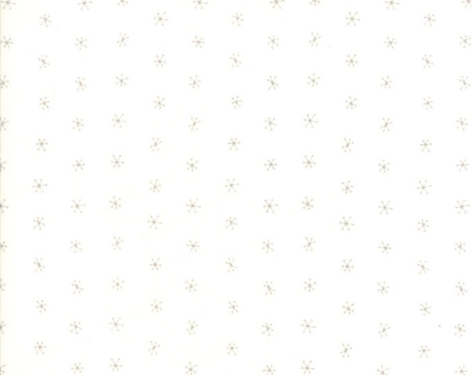 Gingiber Merriment Snowflakes - Snow & Chill (48275 11) for Moda Fabrics