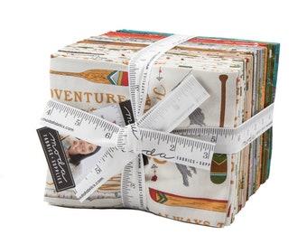 Explore Fat Quarter Bundle by Deb Strain - 32 Fat Quarters for Moda Fabrics - Cotton Quilting Fabric (19910AB) - FQ Bundle