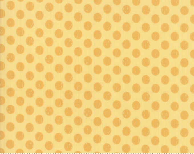 Lollipop Garden Whitewashed Dots - Sunshine - Lollipop Garden by Lella Boutique - (5085 17)