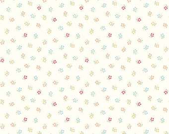 Sugarhouse Park Cream Posey Yardage by Amy Smart (Diary of a Quilter) for Riley Blake Designs (C8893-CREAM) Cut Options Available
