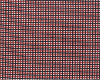 Merry Starts Here - Christmas Plaid - Red and Black - Sweetwater - Moda Fabrics - Christmas Fabric (5737 11) - Sweetwater Merry Starts Here