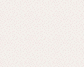 Edie Jane - Dot - Cream (C8185 CREAM) by Deena Rutter for Riley Blake Designs - Girl Fabric - Cotton Quilting Fabric