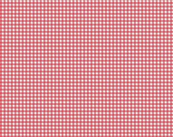 Farm Girl Vintage Gingham Red by Lori Holt (Bee in My Bonnet) (C7883-RED)