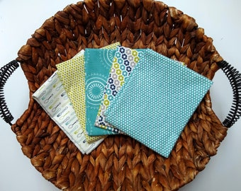 Sweetwater Sunday Supper Fat Quarter Bundle - 5 FQs - Sweetwater Fabrics - Sweetwater Sunday Supper - Quilting Cotton Fabric