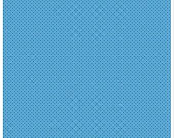 Kisses Tone on Tone Medium Blue (C210) - Riley Blake Designs