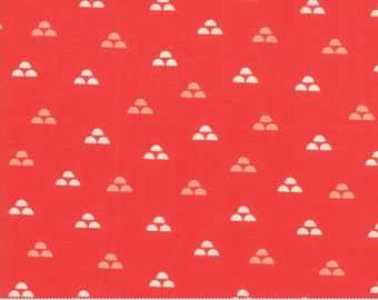 Walkabout Geranium Moonrise (37563-14) by Sherri and Chelsi for Moda Fabrics