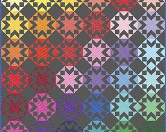 Kaleidoscope Stars Quilt Kit by Riley Blake Designs (KT0137)