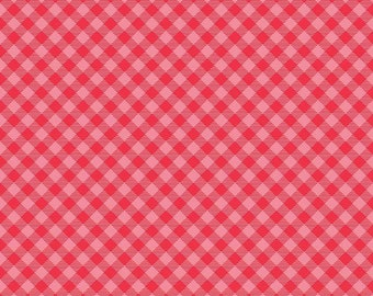 Cozy Christmas Cozy Gingham Pink (C7972-Pink)