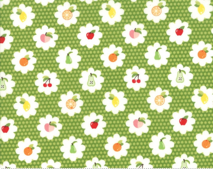 Orchard Grove - Lime - April Rosenthal Orchard for Moda Fabrics (24072 13)