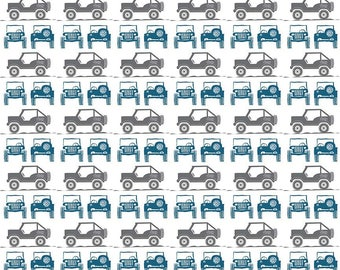 J Is For Jeep - Jeeps Gray C6462