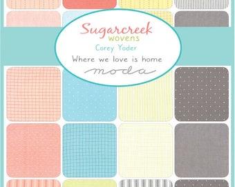 Sugarcreek Wovens Half Yard Bundle by Corey Yoder for Moda - Quilting Cotton Fabric - 18 SKUs