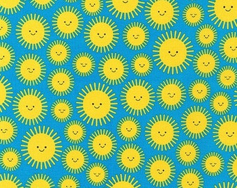Sunburst Sunshine by Ann Kelle from State to State by Robert Kaufman - Novelty Fabric (AAK-19305-209 SUNBURST)