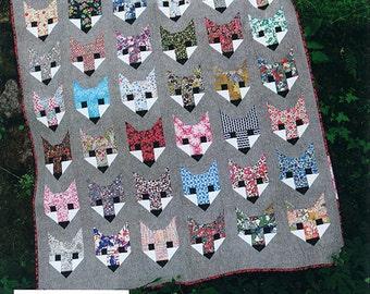 Fancy Fox - Pattern by Elizabeth Hartman (EH 009)