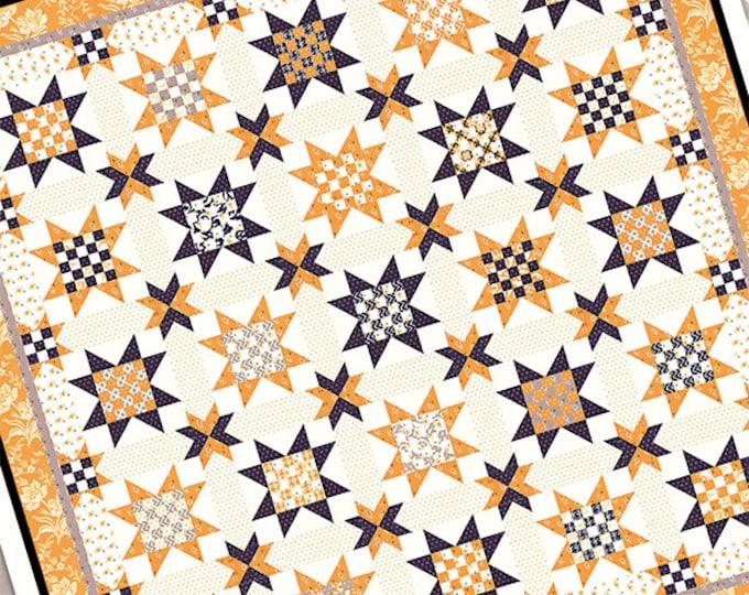 Checkerboards and Stars pattern by Fig Tree & Co. Joann Figueroa (FTQ 1466)