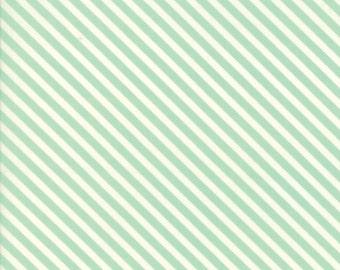 Handmade (55145 12) Aqua Candy Stripe Bonnie & Camille