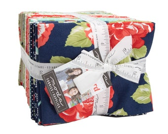 Early Bird Fat Quarter Bundle by Bonnie and Camille for Moda - Quilting Cotton Fabric - 40 FQs  (55190AB)