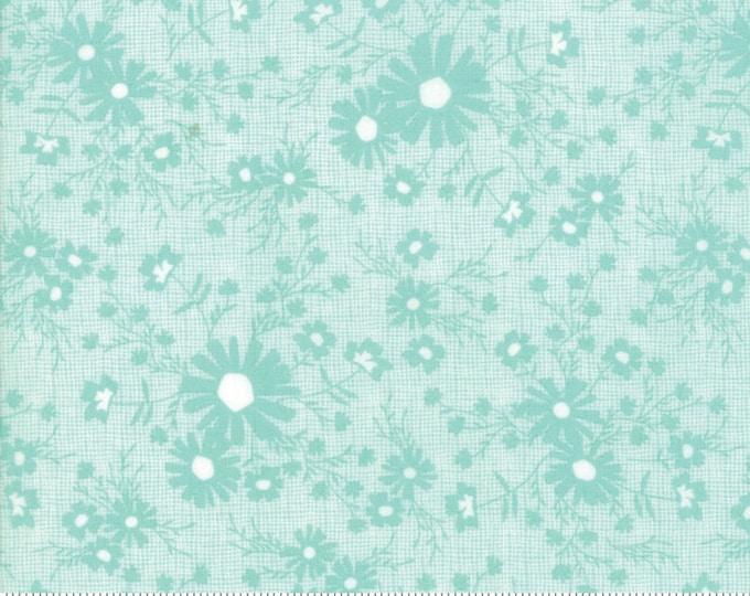 Sunnyside Up Meadow Rainwashed (Aqua) by Corey Yoder (Little Miss Shabby) for Moda (29054 21)