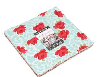 IN STOCK: Little Snippets by Bonnie & Camille Layer Cake (55180LC)  for Moda Fabric