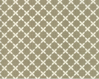 Sweet Tea Lattice in Taupe by Sweetwater for Moda Fabrics - (5725-21)